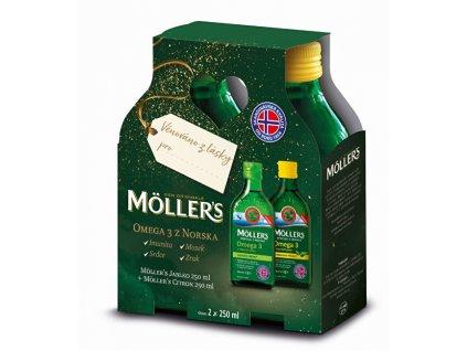 1042971 moller s moller s omega 3 citron citron jablko 250 ml darkove baleni