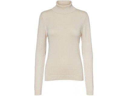 VERO MODA Dámské triko VMGLORY Regular Fit 10231630 Birch (velikost L)