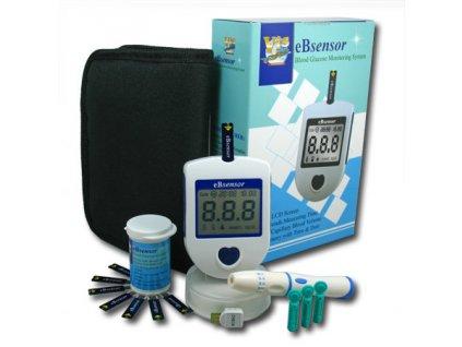 1043556 visgeneer glukometr ebsensor set 50 prouzku