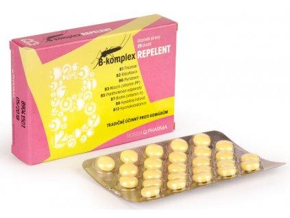 1044231 rosenpharma rosen b komplex repelent 25 tablet