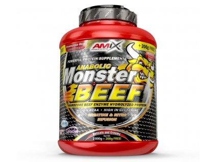 Amix Anabolic Monster Beef 90 Protein 2200g (Příchuť čokoláda)