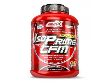 Amix CFM IsoPrime Isolate 2000g (Příchuť Jahoda)