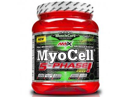 Amix MyoCell 5-phase 500g (Příchuť Fruit Punch)