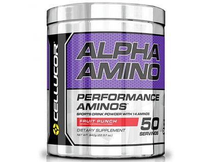 Cellucor Alpha Amino 610 g 50serv. exp. (Příchuť Fruit Punch (exp. 28.2.2016))