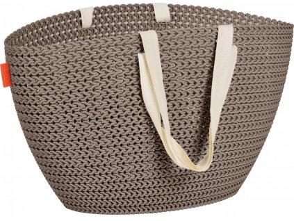 44423 curver knit taska emily hneda