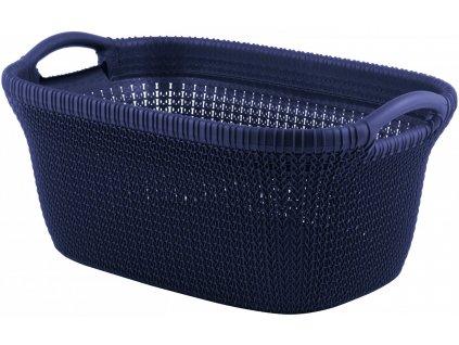 44063 curver kos na ciste pradlo knit 40l fialovy