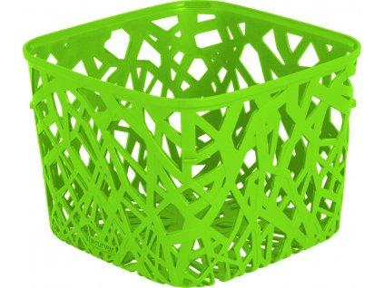 43442 1 curver kosik ctvercovy neo zeleny