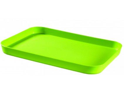 43457 1 curver oboustranny podnos zeleny