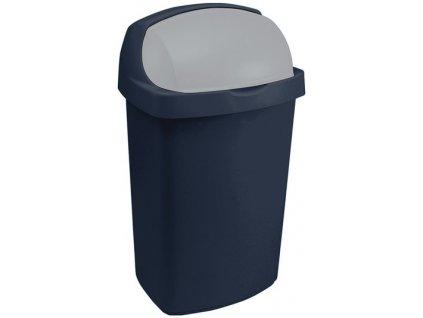 43877 1 curver odpadkovy kos roll top modry 25l