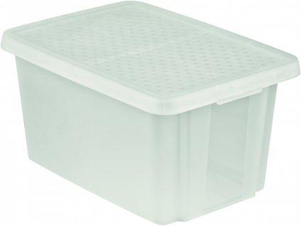 43229 1 curver ulozny box essentials 45l s vikem pruhledny