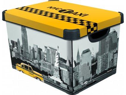 43196 1 curver ulozny box vzor new york velikost l
