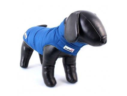 38762 doodlebone zimni bunda combi puffer modra zluta velikost l