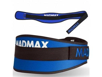 Fitness opasek MadMax Simply the Best Blue (Příchuť Velikost - XS)