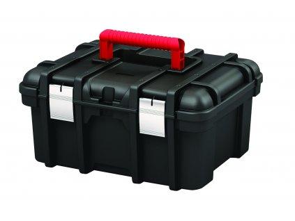 33371 keter skrinka power tool box 16 cerna cervena
