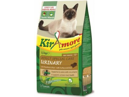 84752 kiramore cat adult urinary 15 kg