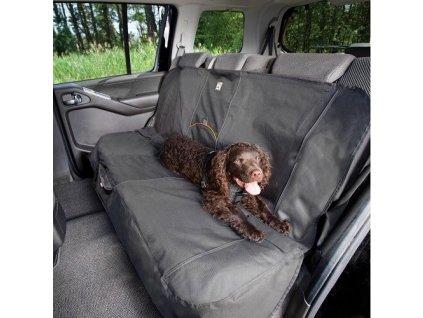 102767 kurgo ochranny prehoz na zadni sedadla wander bench seat cover charcoal