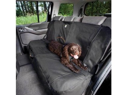 96296 1 kurgo ochranny prehoz na zadni sedadla wander bench seat cover cerna
