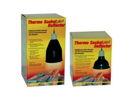 98264 lucky reptile thermo socket plus reflector velky v 23 x 14 cm