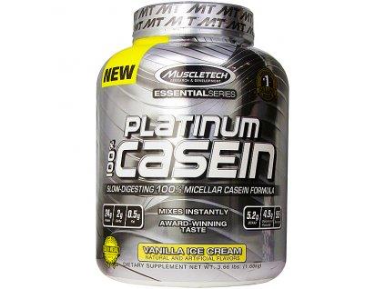 Muscletech Platinum 100% Casein 1660 g exp. (Příchuť Chocolate (exp.05.06.2017))