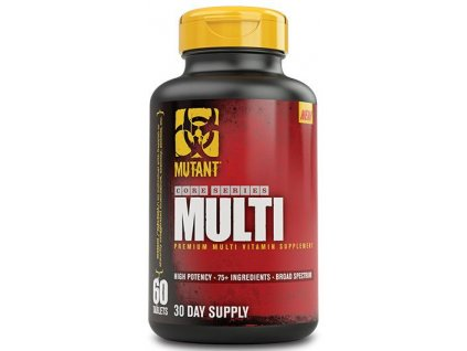 Mutant Core Series Multi 60 tablet (Forma tablety, Balení 60 tablet)
