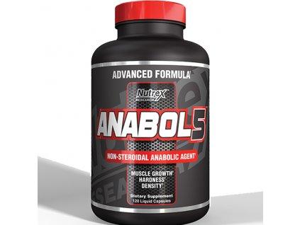 Nutrex Anabol 5 BLACK 120 cps exp. (Příchuť Anabol 5 BLACK 120 cps exp. 30.04.2019)