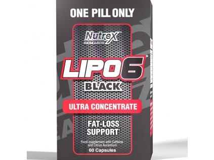 Nutrex Lipo 6 Black ULTRA CONCENTRATE 60 cps exp. (Příchuť Nutrex Lipo 6 BLACK Ultra Concentrate (exp.04/2018))