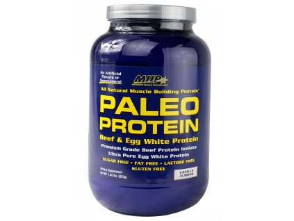 PALEO Beef and Egg Whey Protein 823g exp. (Příchuť Vanilka s mandlemi (exp. 30.4.2016))