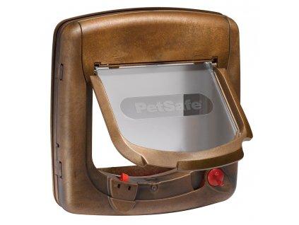 38111 1 petsafe magneticka dvirka staywell 420 drevo