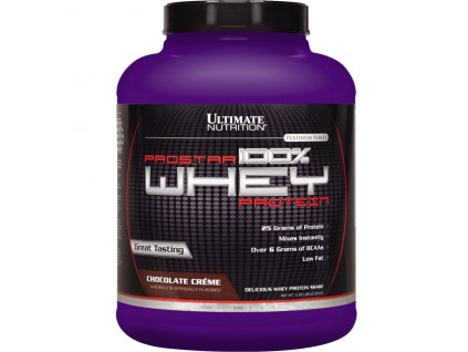 Prostar Whey Platinum Protein 2270g exp. (Příchuť Delicious Rum Raisin (exp.28.2.2017))