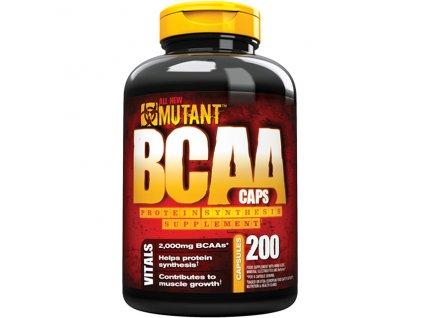 PVL Mutant BCAA Caps 200 cps exp. (Příchuť PVL Mutant BCAA Caps 200 cps exp. 10/2018)