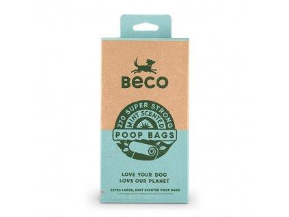 33425 1 sacky na exkrementy beco 270 ks s peprmintovou aroma ekologicke