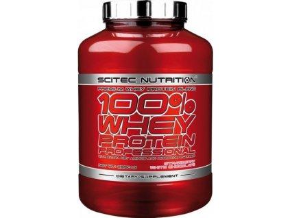 Scitec 100% Whey Protein Professional 2350 g (Příchuť čokoláda/kokos)