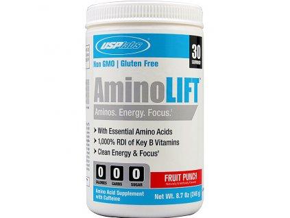 USP Labs AminoLift 246 g exp. - ZTVRDLÝ (Příchuť Fruit Punch (exp. 31.7.2016))