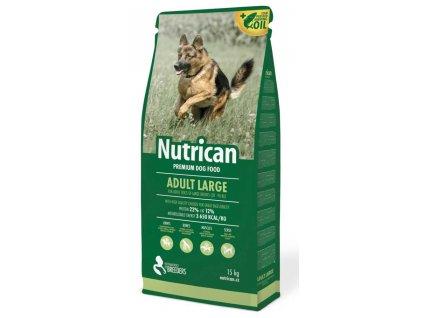 197453 nutrican dog adult large 15 kg