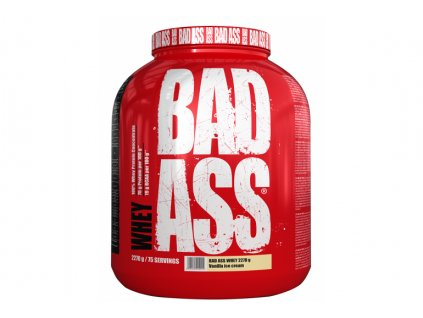 BAD ASS WHEY 2 000 g (Varianta blackcurrant ice cream balení 2270g)