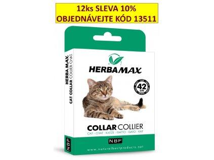 215360 herba max collar cat antiparazitni obojek 42 cm