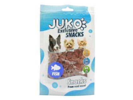 214862 1 juko snacks salmon in heart shape 70 g