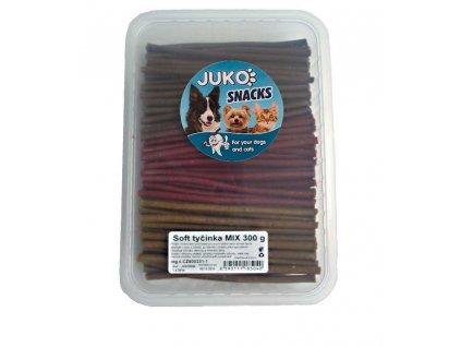221249 1 juko snacks soft tycinka mix cca 140 ks