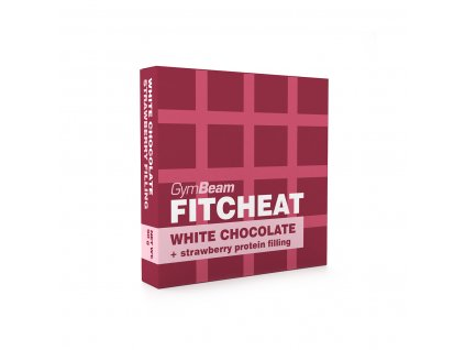 Fitcheat Protein Chocolate - Gymbeam (Příchuť tmavá čokoláda vanilka, Balení (g) 90 g)