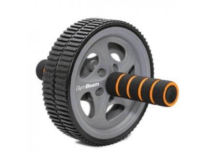 Posilovací kolečko Ab Wheel - GymBeam (barva černá)