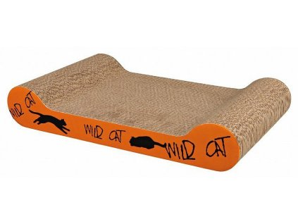 405203 1 skrabaci karton wild cat oranzovy