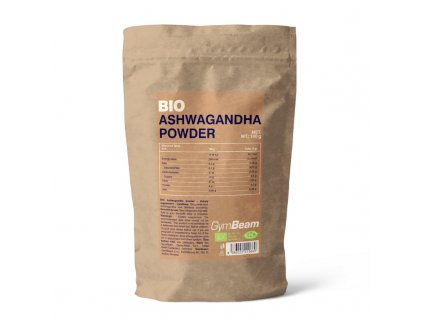 BIO Ashwagandha prášek - GymBeam (Balení (g) 100 g)