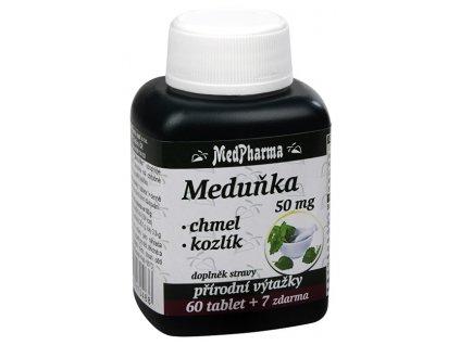 606023 1 medpharma medunka 50 mg chmel kozlik 60 tbl 7 tbl zdarma