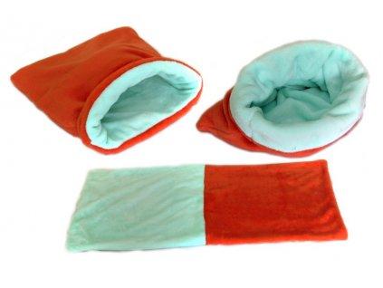 685028 marysa pelisek 3v1 pro stenatka kotatka oranzovy tyrkysovy