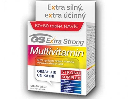 733529 greenswan gs extra strong multivitamin 60 tbl 60 tbl zdarma
