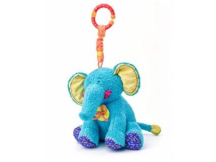 822741 niny zavesna plysova hracka s chrastitkem slonik kaleo