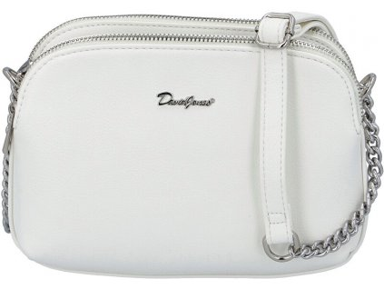 834600 david jones damska crossbody kabelka 6508 2 white
