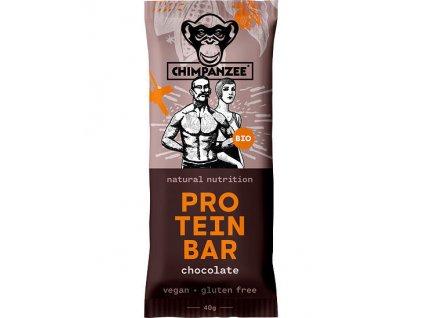 838083 chimpanzee bio protein bar chocolate 40 g
