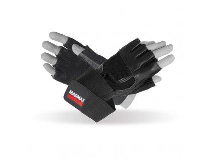 Fitness rukavice Professional Exclusive - MADMAX (velikost S, barva černá)