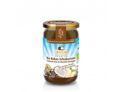 Premium BIO Oříškový krém Coconut Chocolate - DR. GOERG (Balení (g) 200 g)